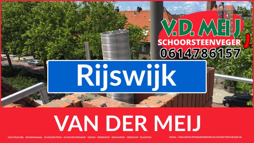 Van der Meij schoorsteenrenovatie in Rijswijk