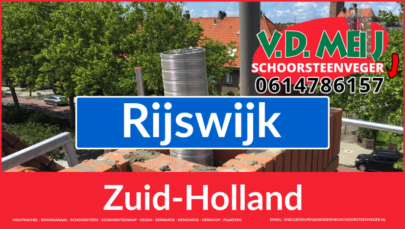 bedankt voor uw bezoek aan Van der Meij schoorsteen renoveren Rijswijk