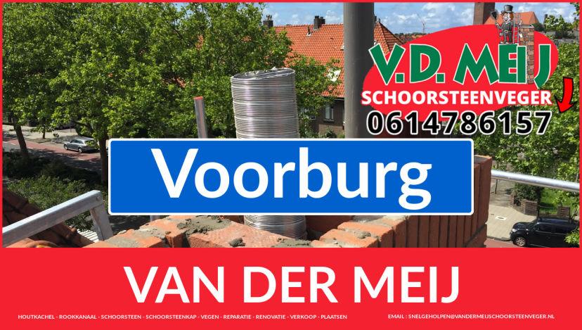 Van der Meij schoorsteenrenovatie in Voorburg