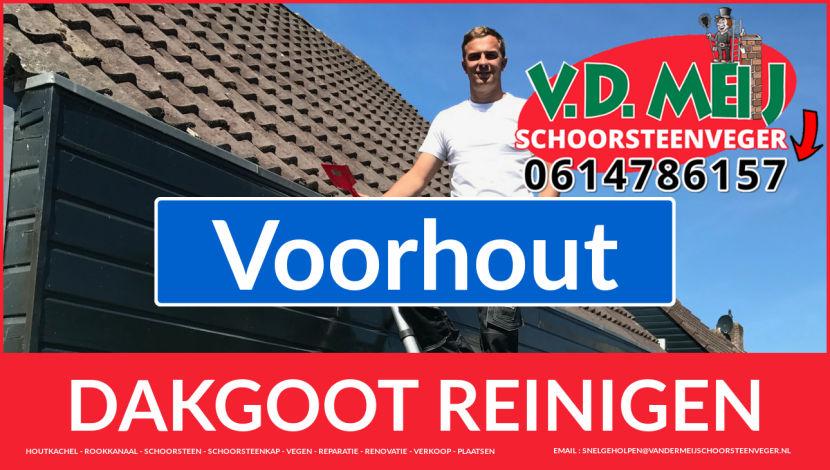 dakgoot schoonmaken Voorhout