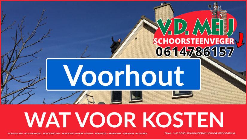 schoorsteen restauratie Voorhout