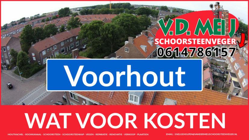 Schoorsteenrenovatie Schoorsteen Voorhout