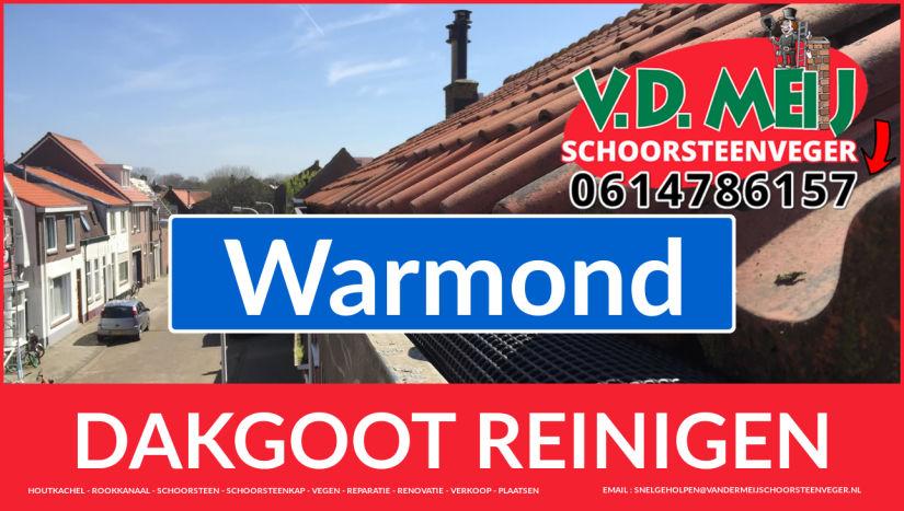 dakgoot reinigen Warmond