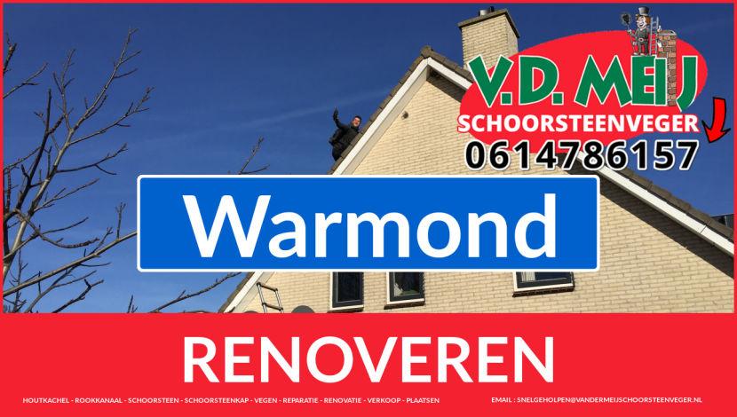 bedankt voor uw bezoek aan Van der Meij schoorsteen restauratie Warmond