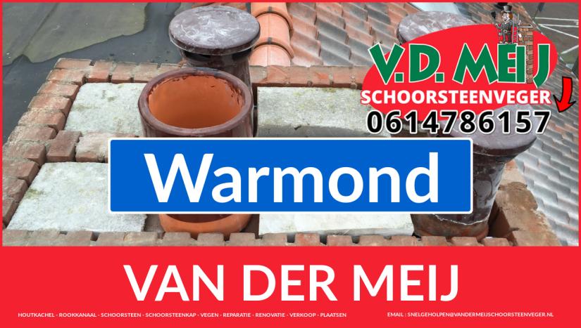 Van der Meij schoorsteen restauratie in Warmond