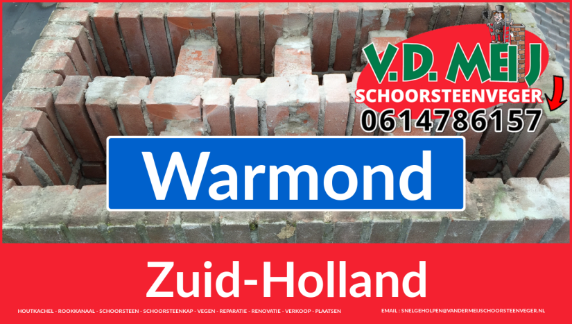 bedankt voor uw bezoek aan Van der Meij schoorsteen renoveren Warmond