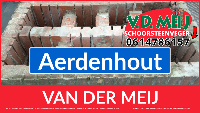 Van der Meij schoorsteen renovatie in Aerdenhout