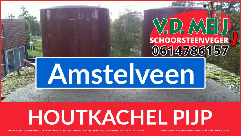 enkel-wandig rookkanaal aanleggen in Amstelveen