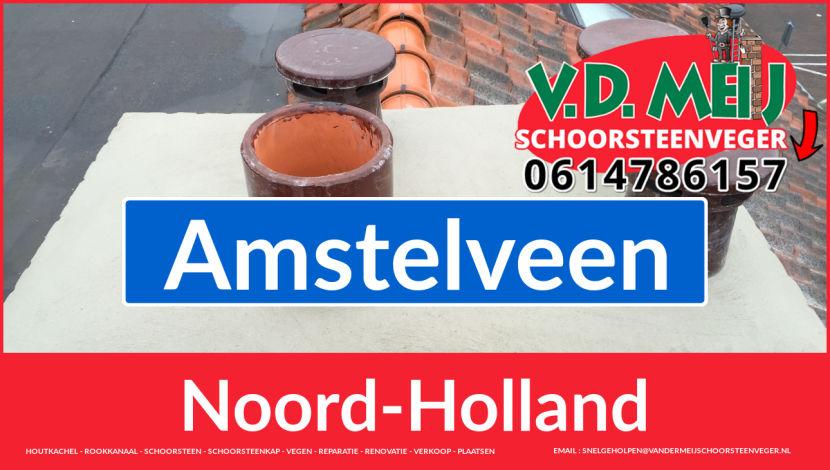 Tot ziens bij Van der Meij schoorsteen renovatie Amstelveen