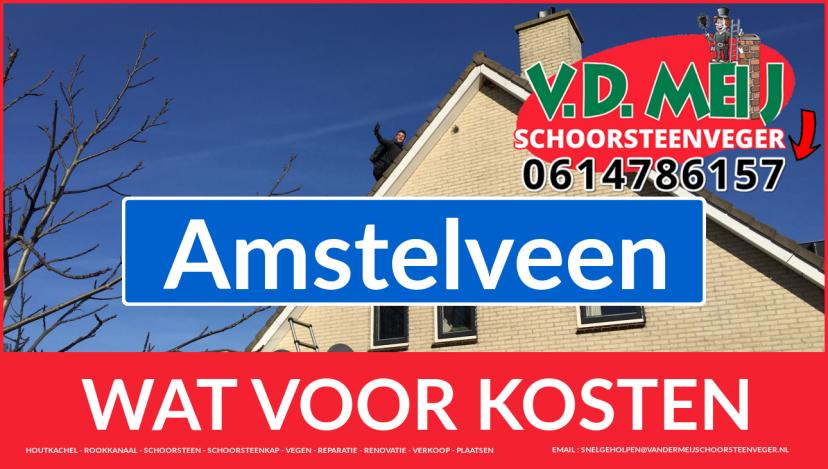 schoorsteen renoveren Amstelveen