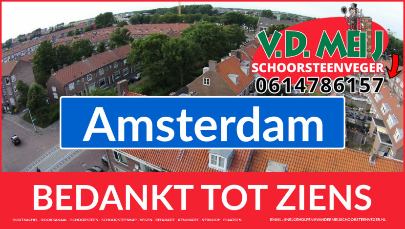 bedankt voor uw bezoek aan Van der Meij {schoorsteenschoorsteenveger uit Noordwijk-Binnen