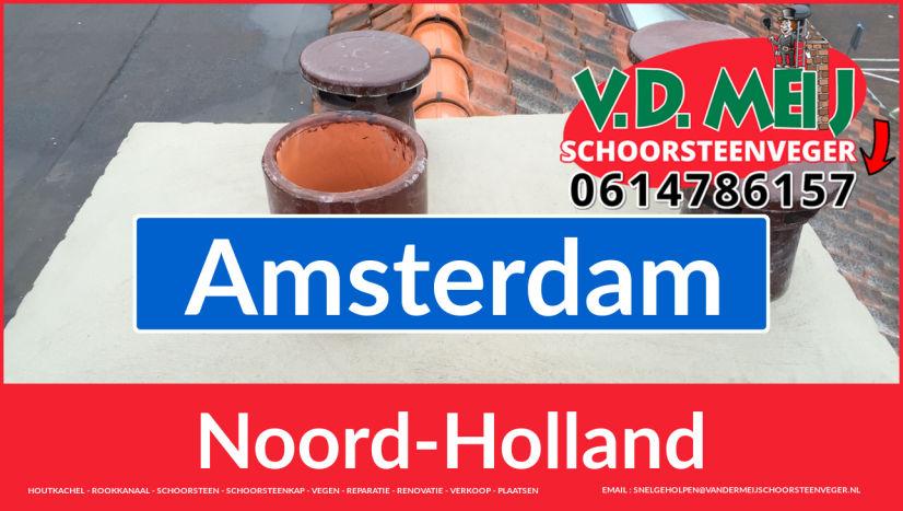 bedankt voor uw bezoek aan Van der Meij schoorsteen renoveren Amsterdam