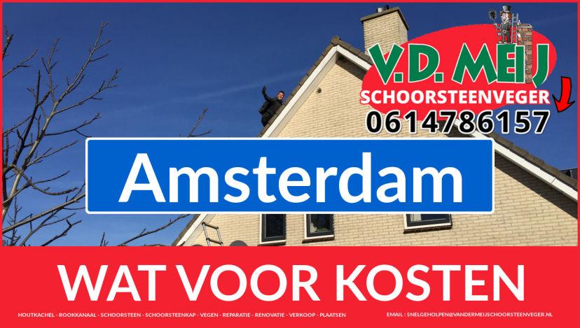 Schoorsteenrenovatie Schoorsteen Amsterdam
