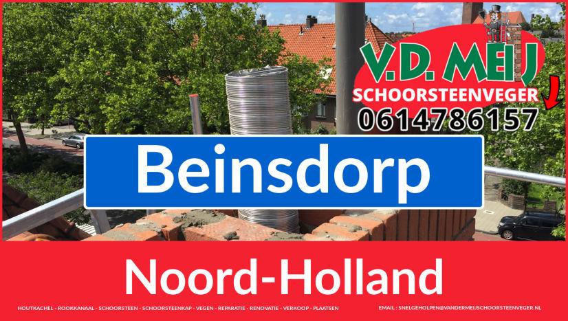 Tot ziens bij Van der Meij schoorsteenrenovatie Beinsdorp