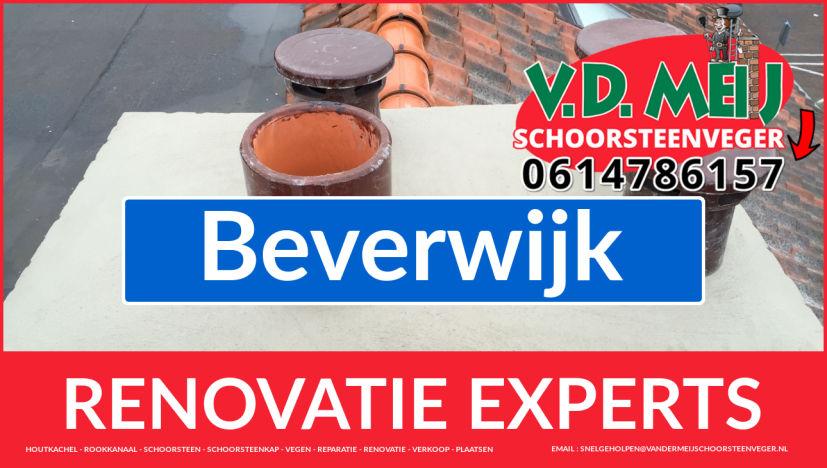 gehele schoorsteen restauratie in Beverwijk