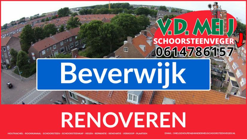 Tot ziens bij Van der Meij schoorsteen restauratie Beverwijk