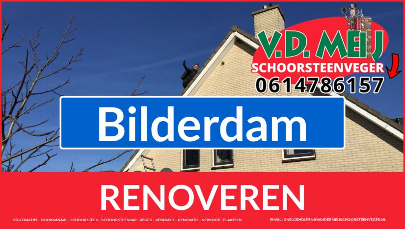 bedankt voor uw bezoek aan Van der Meij schoorsteen restauratie Bilderdam