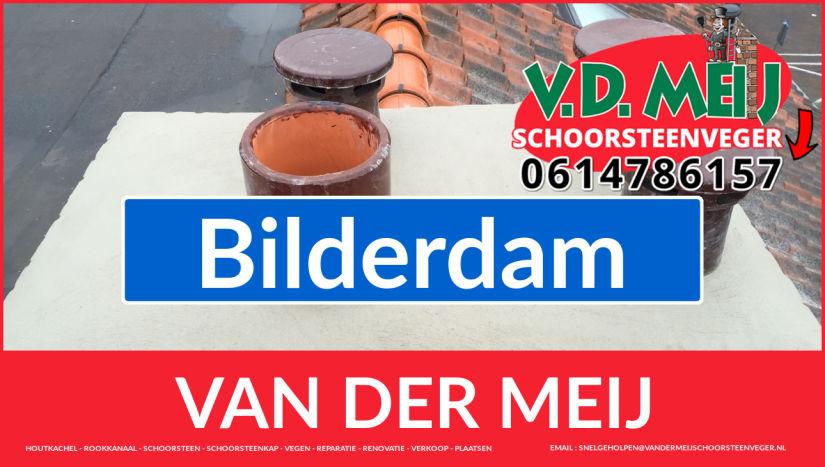 Van der Meij schoorsteenrenovatie in Bilderdam