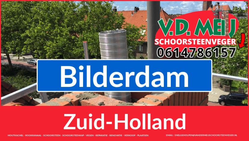 Tot ziens bij Van der Meij schoorsteen restauratie Bilderdam