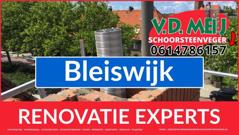algehele schoorsteen renovatie in Bleiswijk