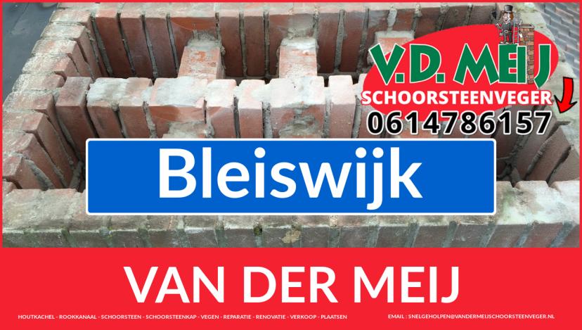 Van der Meij schoorsteen restauratie in Bleiswijk