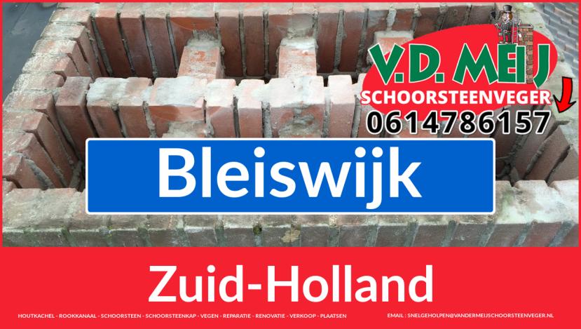 Tot ziens bij Van der Meij schoorsteen restauratie Bleiswijk