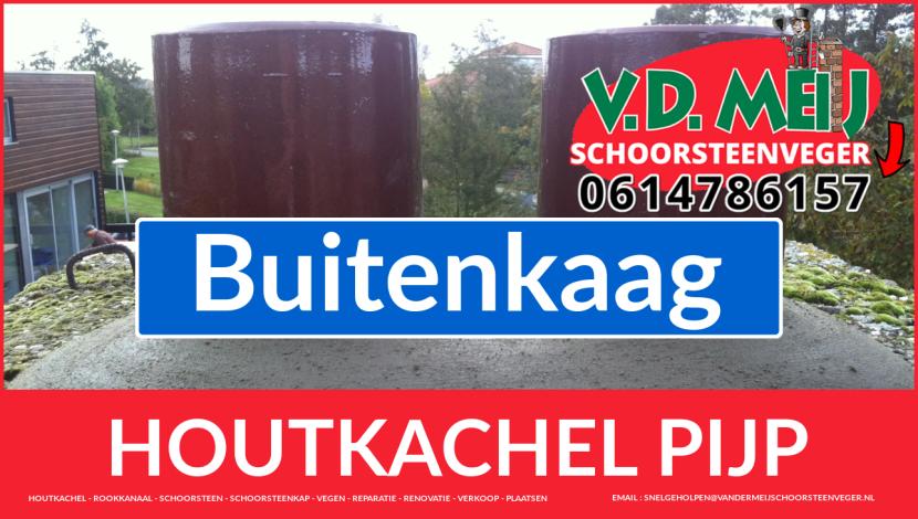enkel-wandig rookkanaal aanleggen in Buitenkaag