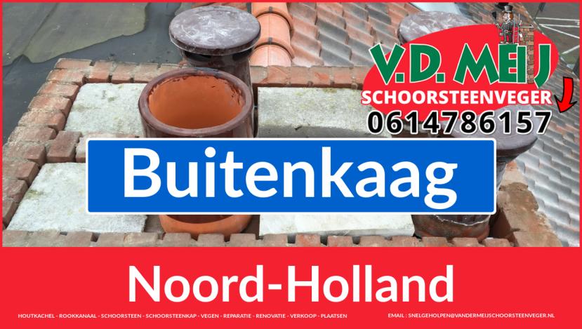 Tot ziens bij Van der Meij schoorsteenrenovatie Buitenkaag