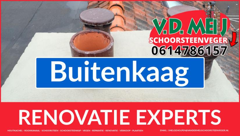 complete schoorsteen restauratie in Buitenkaag