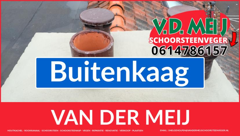 Van der Meij schoorsteenrenovatie in Buitenkaag