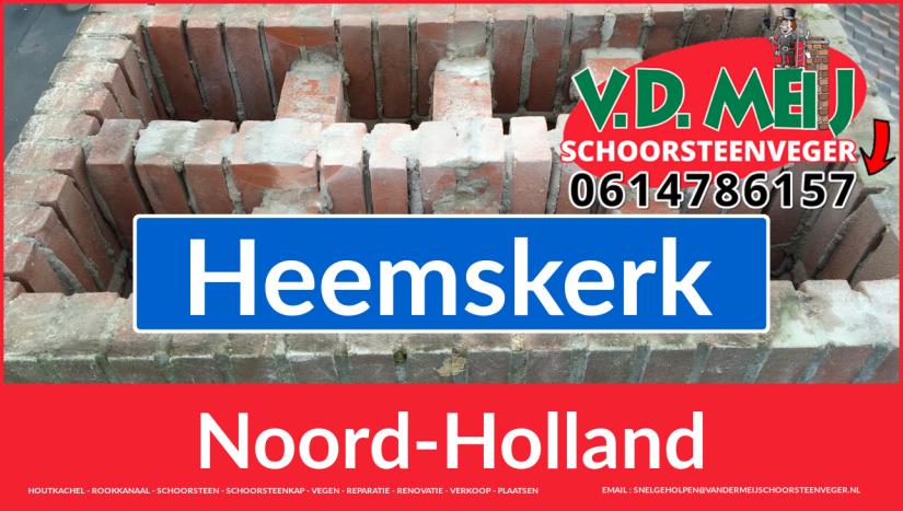 Tot ziens bij Van der Meij schoorsteen renoveren Heemskerk