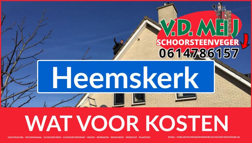 schoorsteen renoveren Heemskerk
