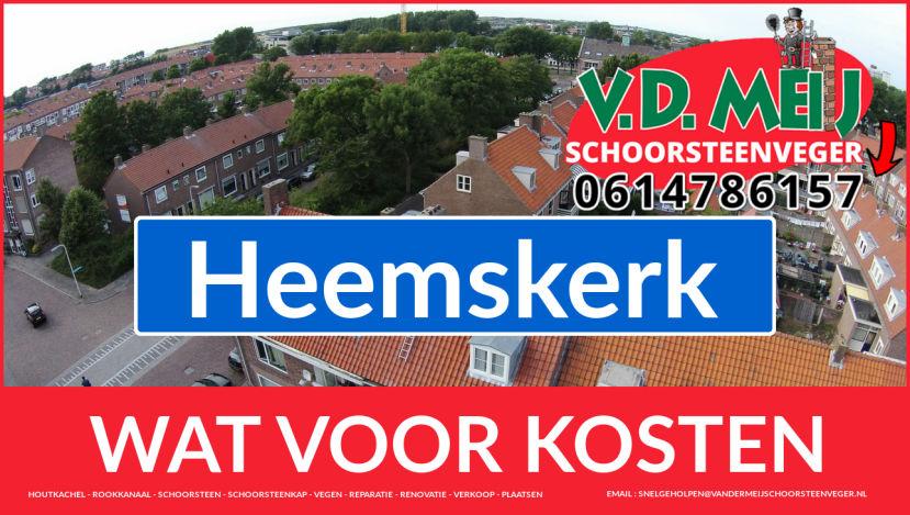Schoorsteenrenovatie Schoorsteen Heemskerk