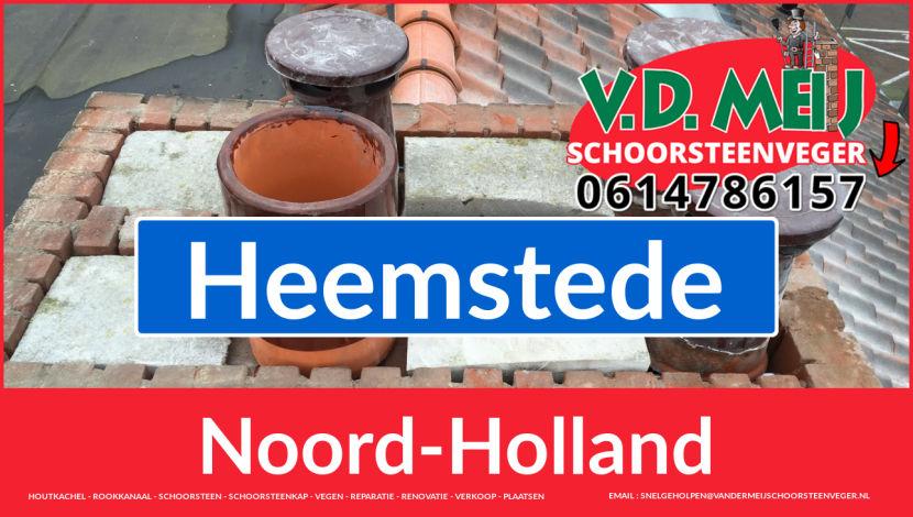 bedankt voor uw bezoek aan Van der Meij schoorsteen renoveren Heemstede