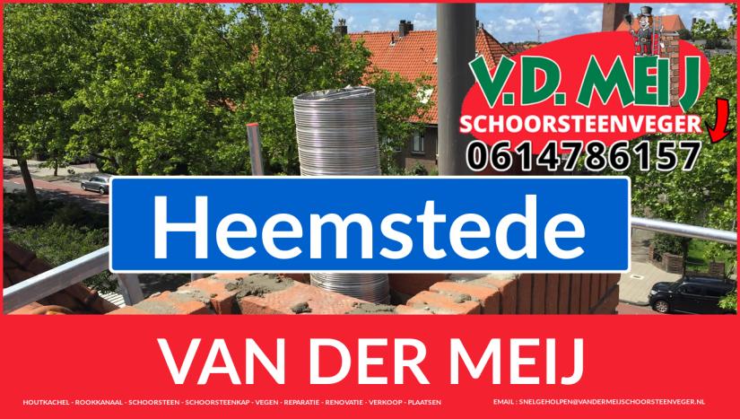 Van der Meij schoorsteenrenovatie in Heemstede