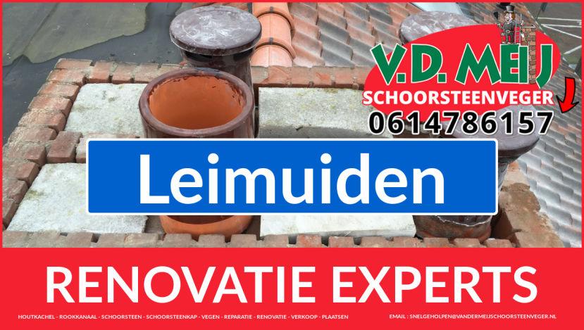 algehele schoorsteenrenovatie in Leimuiden