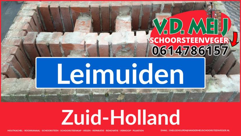 Tot ziens bij Van der Meij schoorsteen restauratie Leimuiden