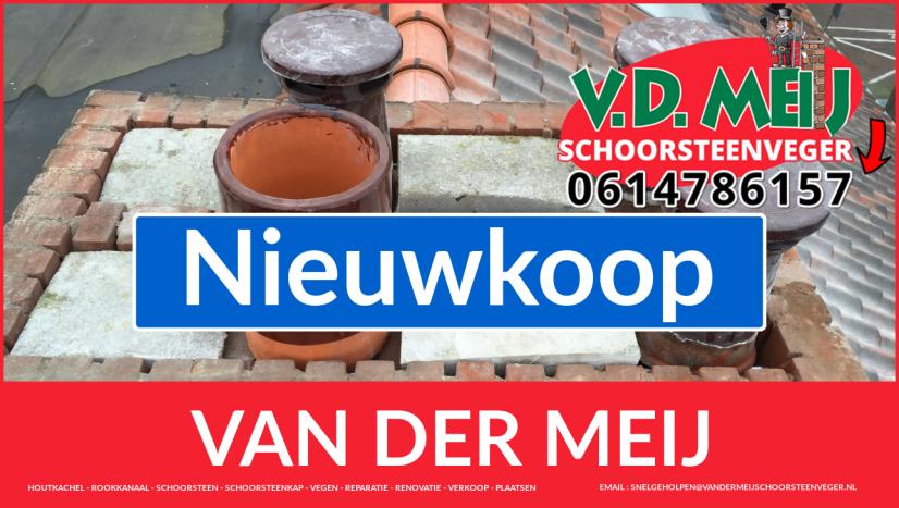 Van der Meij schoorsteen restauratie in Nieuwkoop