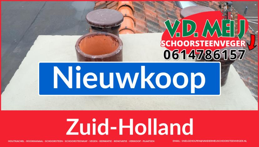 bedankt voor uw bezoek aan Van der Meij schoorsteen renoveren Nieuwkoop
