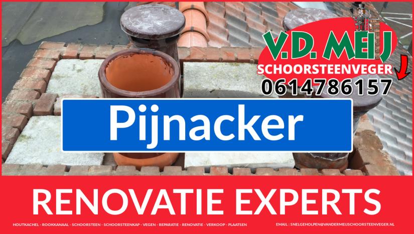 complete schoorsteenrenovatie in Pijnacker