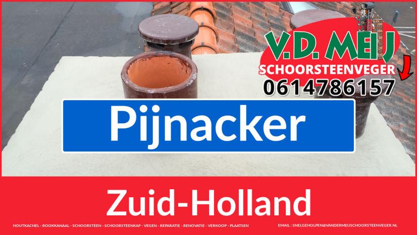 Tot ziens bij Van der Meij schoorsteen restauratie Pijnacker