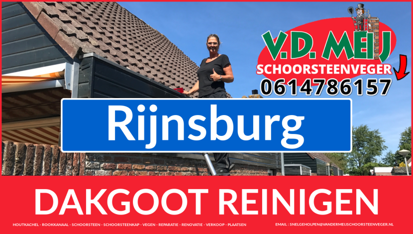 dakgoot reinigen Rijnsburg