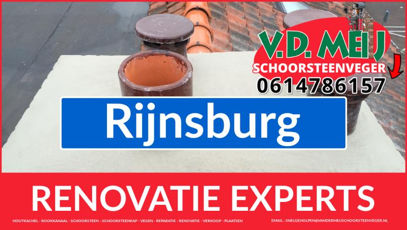 complete schoorsteen restauratie in Rijnsburg