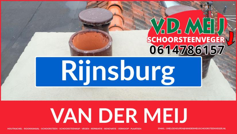 Van der Meij schoorsteenrenovatie in Rijnsburg