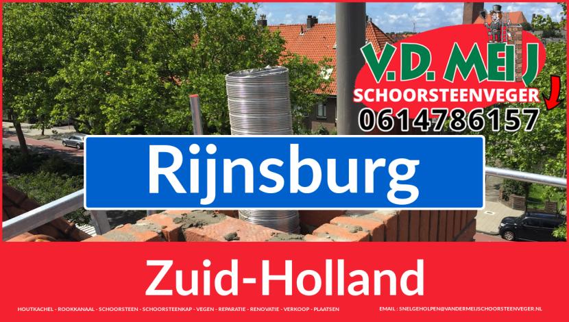 Tot ziens bij Van der Meij schoorsteen renovatie Rijnsburg