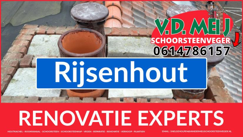totale schoorsteen renovatie in Rijsenhout