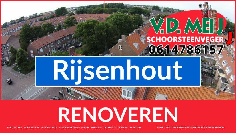 Tot ziens bij Van der Meij schoorsteen restauratie Rijsenhout