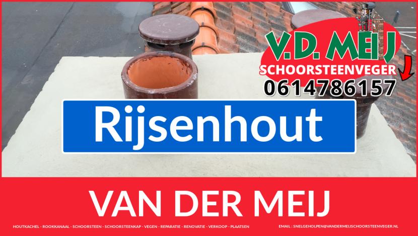Van der Meij schoorsteen renovatie in Rijsenhout