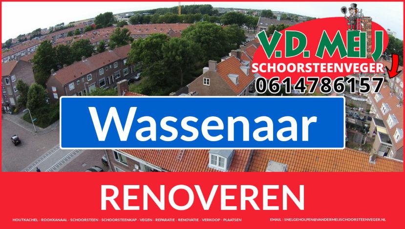 Tot ziens bij Van der Meij schoorsteen restauratie Wassenaar