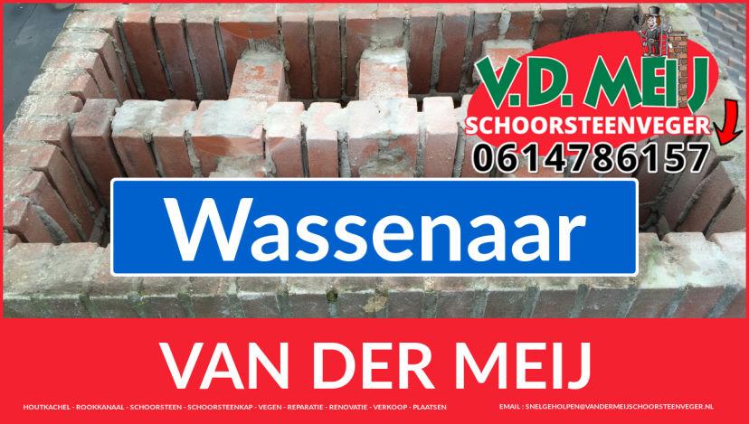 Van der Meij schoorsteenrenovatie in Wassenaar